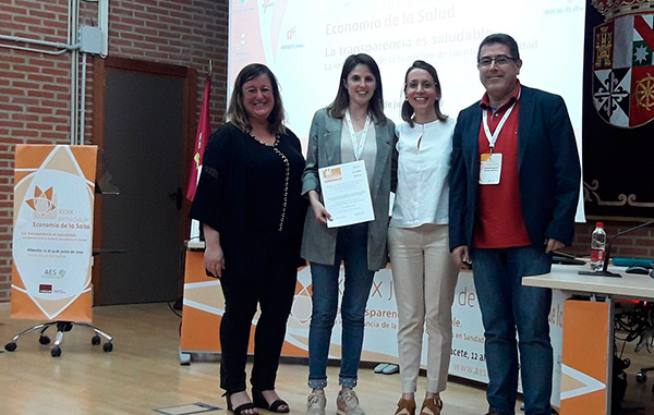 Jornadas AES 2019, Premio FEDEA