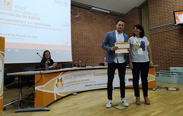 Jornadas AES 2019, Premio SESPAS